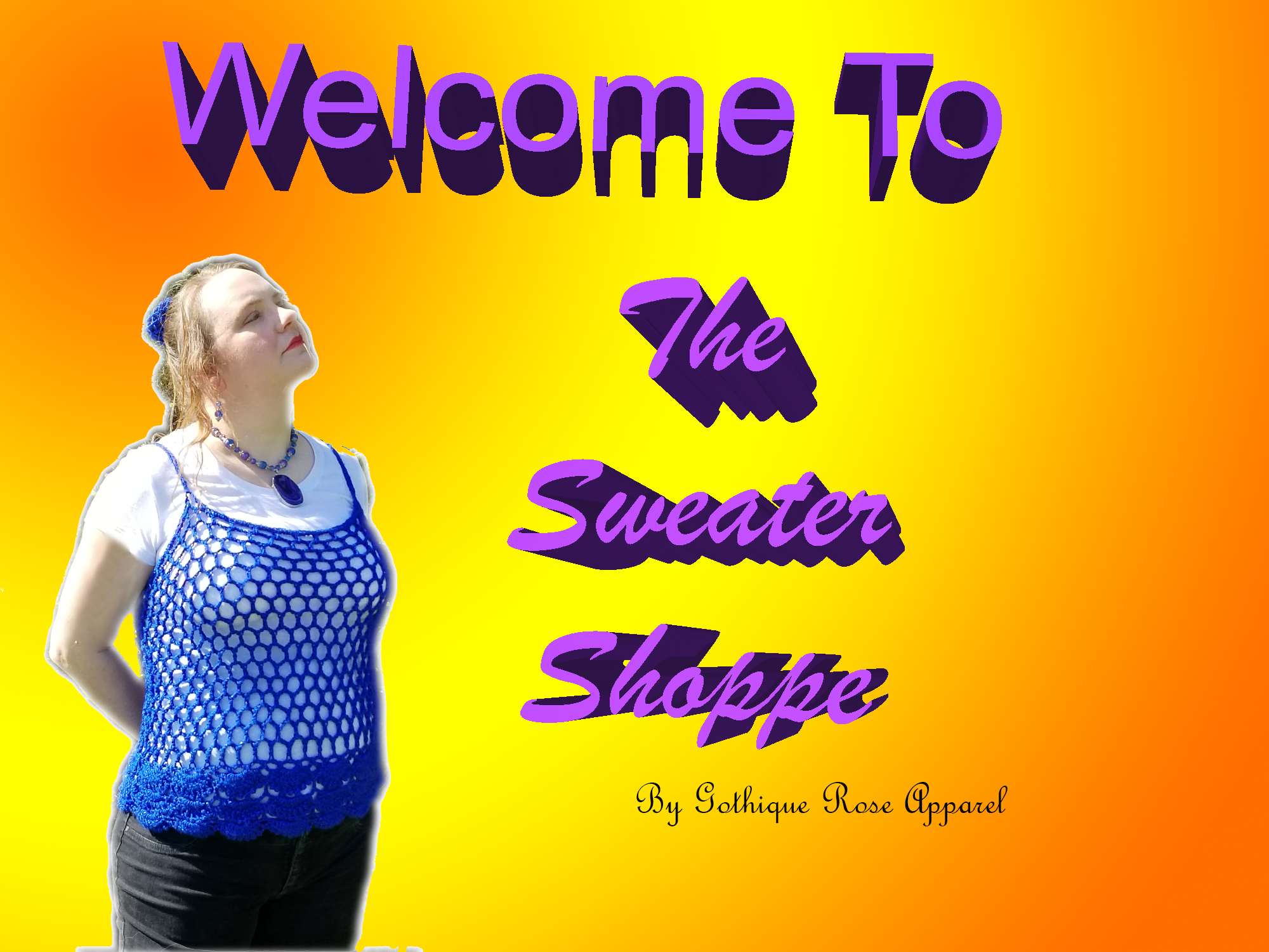 Welcome to The Sweater Shoppe by Gothique Rose Apparel